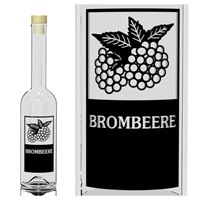 "500ml Opera-Flasche ""Brombeere"""