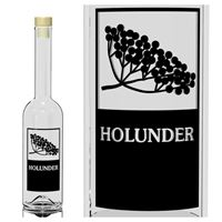 "500ml Opera-Flasche ""Holunder"""