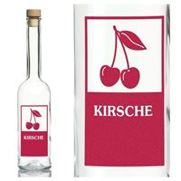 "500ml Opera-Flasche ""Kirsche"""