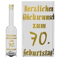 500ml Opera Geburtstagsflasche 70 Jahre