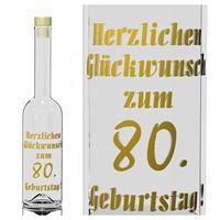500ml Opera Geburtstagsflasche 80 Jahre