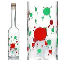 "500ml Opera bottle ""Kleksy"""