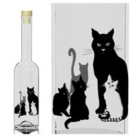 "500ml Opera ""cat bottle"""