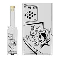 "500ml Opera-flaske ""Keglespil"""