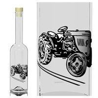 "500ml Opera-flaske ""Traktor"""