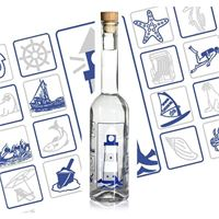 "500ml Opera ""lighthouse bottle"""