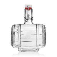 """500ml bottiglia con chiusura meccanica """"Barile"""""""