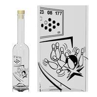 """500ml bouteille Opéra """"Joueur de quilles"""""""