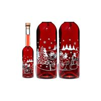 "500ml printed bottle ""Snowman"""