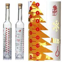 """500ml butelka z kalendarzem adwentowym """"Advento"""""""