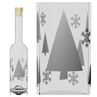 "500ml printed bottle ""X-Mas Style"""