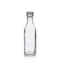 """50ml Klarglasflasche """"Siena"""""""