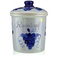 """5l Pot in ceramica """"Frutta al rum"""""""