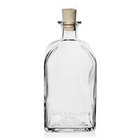 "700ml Klarglasflasche ""Apo Carree"""