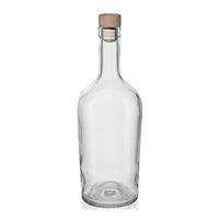 """700ml Klarglasflasche """"Margarethe"""""""
