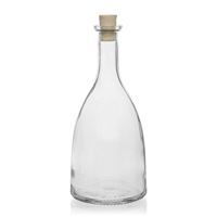 "700ml botella de vidrio transparente ""Viola"""