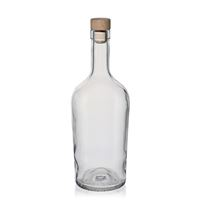 "700ml bouteille verre clair ""Marguerite"""