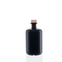 700ml czarna szklana butelka apteczna