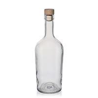 """700ml przezroczysta szklana butelka """"Malgorzata"""""""