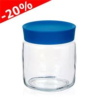 "750ml glass can ""Classio blu"""