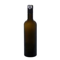 "750ml antikgrön olja/vinägerflaska ""Willy New"" DOP"