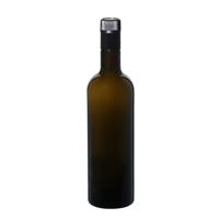 "750ml bouteille verte antique huile-vinaigre ""Willy New"" DOP"