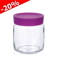 "750ml glass can ""Classio fucsia"""