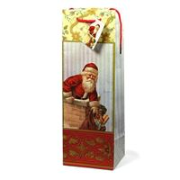 "Bottle bag ""Santa Claus"""