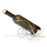 Bottle holder with wheels