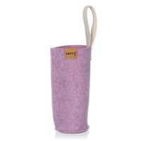 CARRY Sleeve magnolia-purpurowa na 700ml szklana butelka do picia