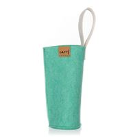CARRY Sleeve mint green for 700ml glass drinking bottle