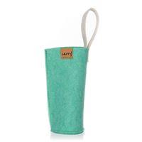 CARRY Sleeve mintgrön för 700ml glasdricksflaska