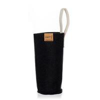 CARRY Sleeve nera per 700ml Bottiglia d'acqua