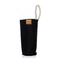 CARRY Sleeve sort til 700ml glas drikkeflaske
