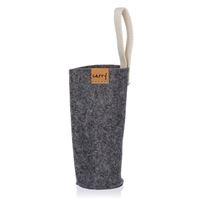 CARRY Sleeve szary na 700ml szklana butelka do picia