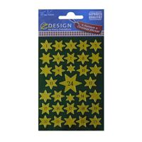 Christmas labels Advent calendar green