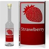 "500ml Opera ""Strawberry"""