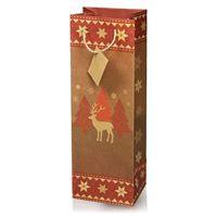 """Flaschentasche """"Traditionelle Weihnachten"""""""