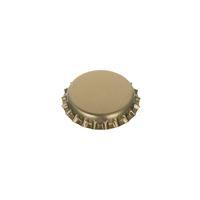 Flaskkapsyl Standard 26mm, gyllene/matt