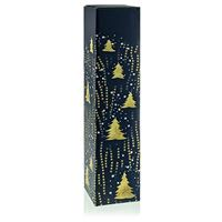 "Gift box golden ""christmas trees"""
