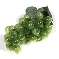 Grappe de raisins verts en plastique