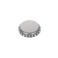 Kroonkurk Standaard 26mm zilver/mat