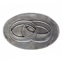 Metalen etiket Trouwringen