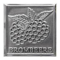 "Metalletikett ""Brombeere"""