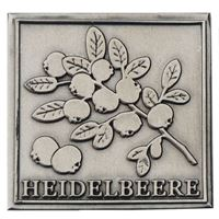 "Metalletikett ""Heidelbeere"""