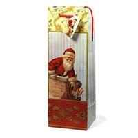 """Sachet bouteille """"Santa Claus"""""""