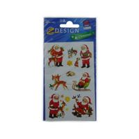 Stickers kerstman