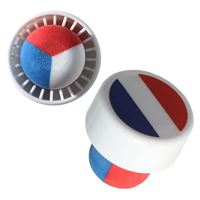 "Stopper in the color of the national flag ""France"" type M"