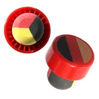 "Stopper in the color of the national flag ""Germany"" type M"