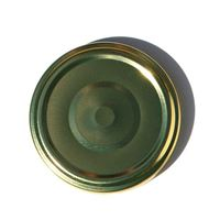Twist-off deksel 66mm goud